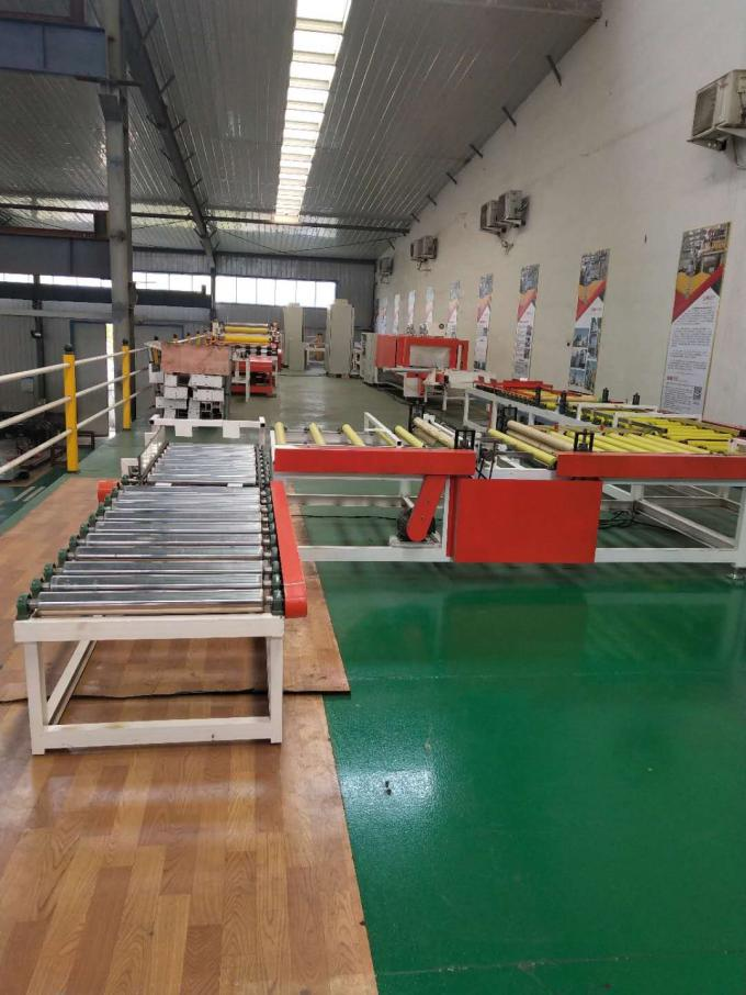 High Performance Plaster Board Laminating Machine PLC Electrical Control