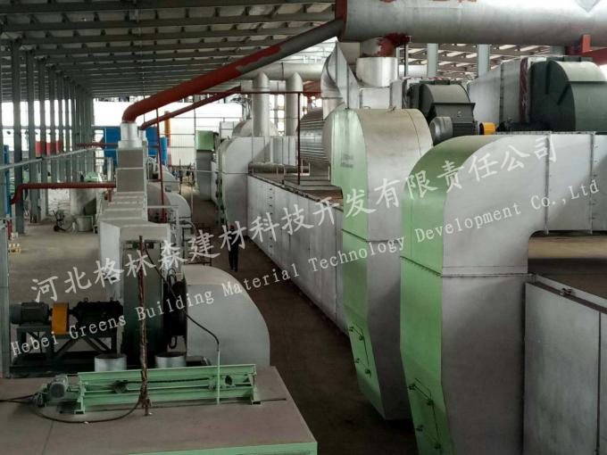 CE ISO Gypsum Ceiling Tile Production Line / Rock Wool Production Line
