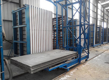 Automatic Light Weight EPS Cement Sandwich Panel Production Line ISO / CE Certificate