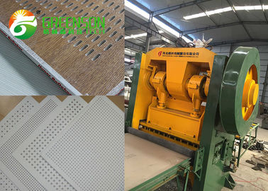 Soundproof Sheet Perforation Machine , Acoustical Gypsum
