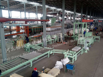 Building Material Mineral Wool Sandwich Panel Line For Ceiling Board