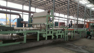 Eco Friendly Mineral Wool Sandwich Panel Production Line Using Power Plant / Steel Plant