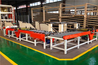 Automatic Edge Banding Machine For PVC Laminating Gypsum Board 600*600mm Size