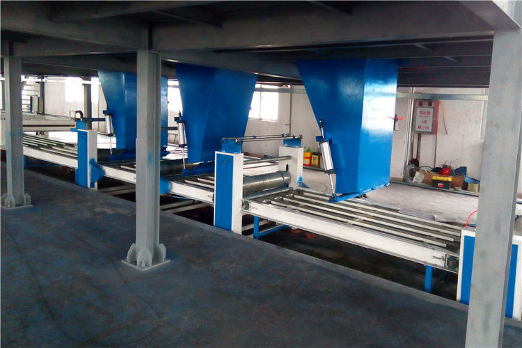 Fully Automatically Light Weight MGO Wall Panel Production Line 380V/50HZ