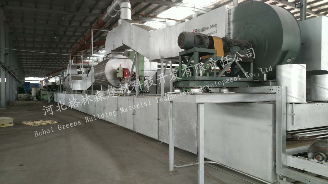 Industial Mineral Wool Board Production Line Full Automatically For Making Mineral Fiber Board